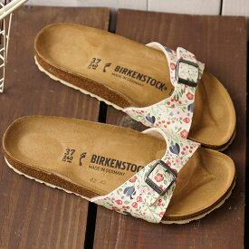 ビルケンシュトック BIRKENSTOCK マドリッド Madrid メンズ・レディース サンダル 靴 Meadow Flowers Beige (GC1012774 GC1012775 SS19)【ts】