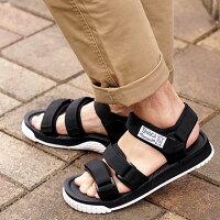 【即納】シャカSHAKAネオバンジーNEOBUNGYメンズレディースストラップアウトドアサンダル靴BLACK/WHITEブラック系(SK433104SS19)【コンビニ受取対応商品】