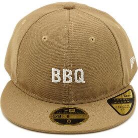 【即納】ニューエラ アウトドア NEWERA OUTDOOR 59FIFTY RETRO CROWN BBQ バーベキュー キャップ メンズ レディース 帽子カーキ系 (11897274 SS19)