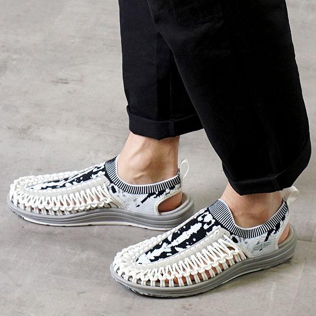 【限定モデル】キーン KEEN メンズ ユニーク エヴォ MEN UNEEK EVO イリオモテパック 西表島 サンダル 靴 Star White/Raven (1021256 SS19)