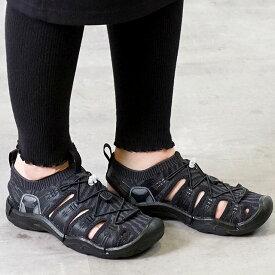 キーン KEEN レディース エヴォフィット ワン WOMEN EVOFIT 1 サンダル 靴 Black/Black (1021397 SS19)【e】【ts】