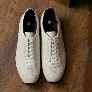 【返品送料無料】パトリック PATRICK 日本製 パミール・ウォータープルーフ PAMIR-WP メンズ・レディース 防水レザー スニーカー 靴 WHT ホワイト系 (530170)