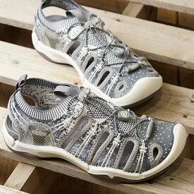 キーン KEEN レディース エヴォフィット ワン WOMEN EVOFIT 1 サンダル 靴 Grey/White (1021402 SS19)【ts】【e】
