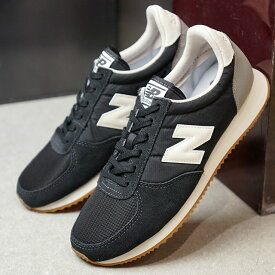 【即納】ニューバランス newbalance U220 メンズ レディース Dワイズ スニーカー 靴 BLACK ブラック系 (U220HB FW19)