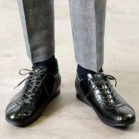 【返品送料無料】【限定復刻モデル】パトリック PATRICK シュリー ラグジュアリー SULLY-FM/LX メンズ スニーカー ビジネス 日本製 靴 BLK ブラック系 (26529)