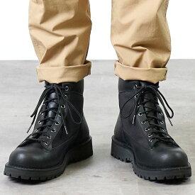 【サイズ交換片道送料無料】Danner ダナー マウンテンブーツ メンズ DANNER FIELD ダナー フィールド BLACK/BLACK 靴 (D121003 SS18)