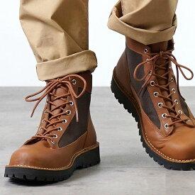 【サイズ交換片道送料無料】Danner ダナー マウンテンブーツ メンズ DANNER FIELD ダナー フィールド TAN/DARK BROWN 靴 (D121003 SS18)