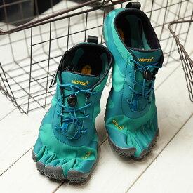 ビブラムファイブフィンガーズ Vibram FiveFingers 5本指シューズ V-ALPHA (19W7102 SS20) レディース ベアフットスニーカー 靴 Teal/Blue グリーン系
