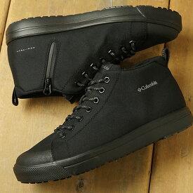 コロンビア Columbia 防水スニーカー ホーソンレイン2 アドバンス オムニテック HAWTHORNE RAIN II ADVANCE OMNI-TECH (YU0314-010 SS20) メンズ・レディース ハイカット レインシューズ 靴 Black ブラック系