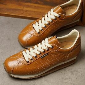【楽天カードで3倍】【返品送料無料】パトリック PATRICK スニーカー SANGER サンガー メンズ・レディース 日本製 靴 BROWN ブラウン 茶 [21133]【定番モデル】