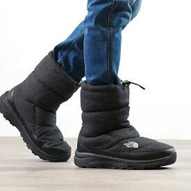 【サイズ交換片道送料無料】ノースフェイス THE NORTH FACE ウィンターブーツ TNF ヌプシ ブーティー ウール 5 Nuptse Bootie Wool V (NF51978 FW20) メンズ・レディース スノーブーツ 撥水 防寒靴 C チャコール
