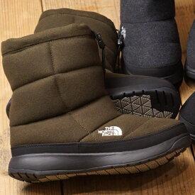 【サイズ交換片道送料無料】ノースフェイス THE NORTH FACE レディース TNF ヌプシ ブーティー ウール 5 W Nuptse Bootie Wool V ウィンターブーツ スノーブーツ 撥水 防寒靴 MB メジャーブラウン (NFW51978 FW19)