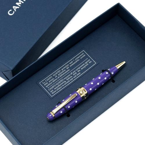 ★Campo Marzio Design/カンポマルツィオ/Minny LPボールペン! パープル/WH ★