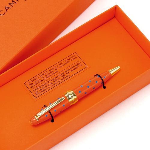★Campo Marzio Design/カンポマルツィオ/Minny LPボールペン! オレンジ/TQ ★