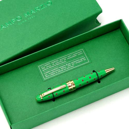★Campo Marzio Design/カンポマルツィオ/Minny LPボールペン! グリーン/CY ★