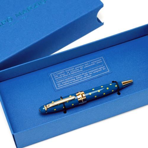 ★Campo Marzio Design/カンポマルツィオ/Minny LPボールペン! ブルー/YE ★