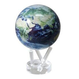 MOVA Globe ムーバグローブ11cm 半永久的にゆっくり 回り続ける不思議な地球儀 Satellite View W/Cloud/MG45STEC