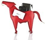 ヴァカヴァリエンテ(Vacavaliente)ホースペンシルスタンド(馬)リサイクルレザー全3色MA1303/04/10