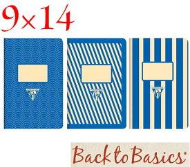 ☆クレールフォンテーヌ(Clairefontaine)☆Back to Basics 1951 LINE★1951 復刻ノート ライン 9x14/ブルー(3柄8冊アソート)★【RCP】