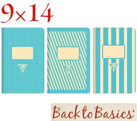 ☆クレールフォンテーヌ(Clairefontaine)☆Back to Basics 1951 LINE★1951 復刻ノート ライン 9x14/ライトブルー(3柄8冊アソート)★【RCP】