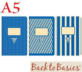 ☆クレールフォンテーヌ(Clairefontaine)☆Back to Basics 1951 LINE★1951 復刻ノート ライン  A5/ブルー(3柄6冊アソート)★【RCP】