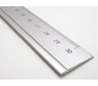 ☆アルミ定規30cm☆ミニマルデザインの機能美。アルミ削りだし定規★スリップオン★DAR-4802