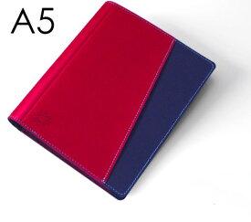 CASSAROS<キャサロス> A5ファイルノートカバーNE ITALIAN Material 背幅拡張タイプCAFNCA5NE-N*