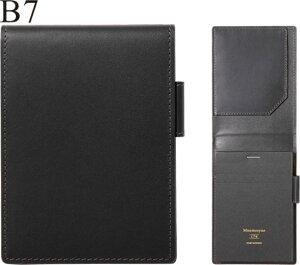 マルマン×ソメスサドル 日本で唯一の馬具メーカーの革を使用 ニーモシネ/ノートパッドホルダー 革製表紙 B7 HN178LA