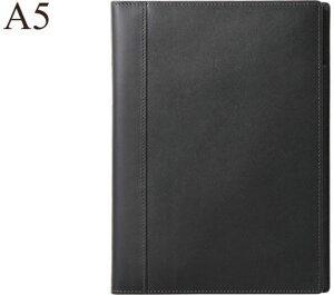 送料無料 マルマン×ソメスサドル 日本で唯一の馬具メーカーの革を使用 ニーモシネ/ノートパッドホルダー 革製表紙 A5 HN188LA