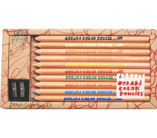 ☆おえかき色鉛筆(10本)☆好評発売中の『おえかきブック』から、人気の色鉛筆が独立しました★コクヨのえほんシリーズ★【RCP】