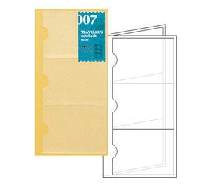 トラベラーズノート レギュラーサイズ-リフィル リフィル- 名刺ファイル 14301006