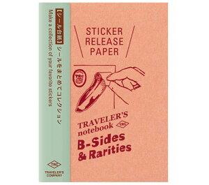 トラベラーズノート リフィル 限定 シール台紙 パスポートサイズ 14437006