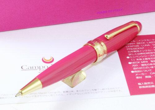 ★Campo Marzio Design/カンポマルツィオ/Minny ボールペン!ピンク★