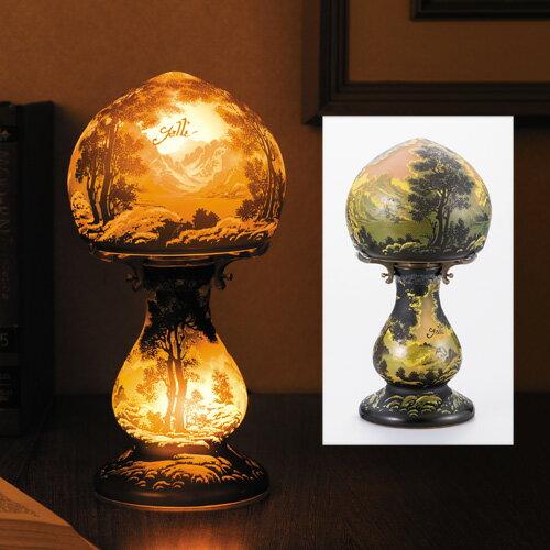 エミール・ガレ『深き森』【ガレ・ランプ】【通販・販売】