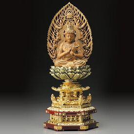 仏像 『 大日如来 』 白檀 木彫 香木 葉小鵬 一木彫り サンダルウッド 通販 販売