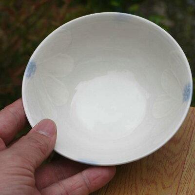 白磁瓔珞夫婦湯飲み【送料無料】