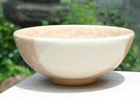 京焼 清水焼 ガラス釉ご飯茶碗 陶仙 大
