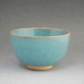 京焼 清水焼 青磁抹茶茶碗 陶仙