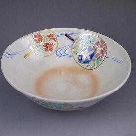 京焼 清水焼 団扇流水平茶碗 亨
