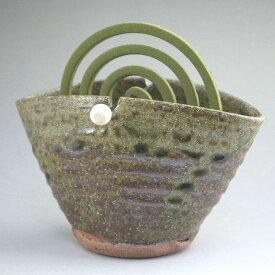 蚊やり(蚊やり器)灰釉