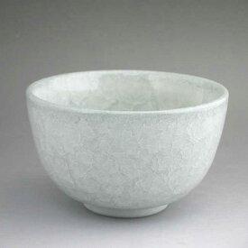 京焼 清水焼 白磁青土抹茶茶碗 陶仙