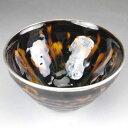 京焼 清水焼 鼈甲盞天目茶碗 定一