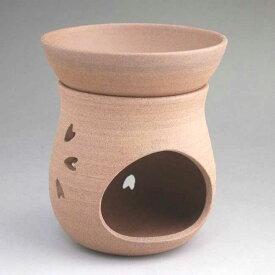 京焼 清水焼 焼締桜茶香炉 雅楽