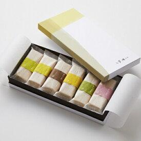【全国送料無料】銀座割烹里仙 お手作り合わせ 六彩味最中二箱セット 和菓子 高級ギフト