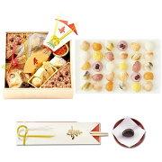 お食い初め一段+てまり寿司1箱(3パック入り30個)セット