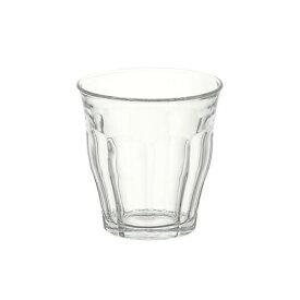 (単品販売)デュラレックス(DURALEX) ピカルディー 220ml /全面物理強化ガラス グラス タンブラー コップ おしゃれ 定番 カフェ 水飲みグラス ソフトドリンク 食洗機対応 電子レンジ対応 丈夫 頑丈 ロングセラー ベストセラー グッドデザイン賞 家庭用 業務用 SSK14