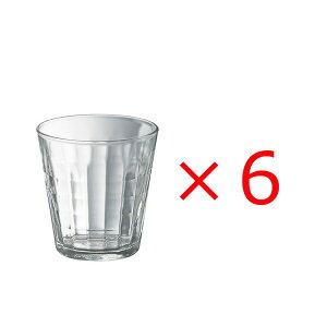 (6個販売) DURALEX(デュラレックス)プリズム 170ml /全面物理強化ガラス グラス タンブラー コップ おしゃれ 定番 カフェ 水飲みグラス ソフトドリンク 食洗機対応 カフェグラス 定番 丈夫 頑