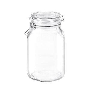 ボルミオリロッコ ガラス フィドジャー 2.0L 保存容器 パッキン付き 密閉瓶 梅酒 自家製梅酒 手作りジャム 塩 オイル ビネガー 調味料 スパイス 紅茶 珈琲豆 小麦粉 強力粉 薄力粉 酵母 昆布