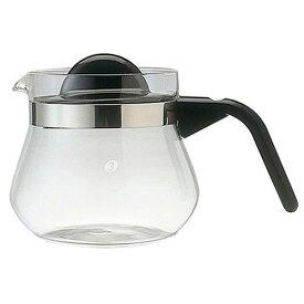 Melitta (メリタ) グラスポット カフェリーナ 500 ガラス コーヒーサーバー コーヒーポット ティーサーバー ティーポット 珈琲 紅茶 緑茶 耐熱 0.5L 500ml 茶漉し付き 4杯用 家庭用 キッチンツール 定番 御祝 内祝い ギフト プレゼント SSK24