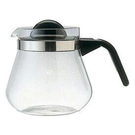 Melitta (メリタ) グラスポット カフェリーナ 800 ガラス コーヒーサーバー コーヒーポット ティーサーバー ティーポット 珈琲 紅茶 緑茶 耐熱 0.8L 800ml 茶漉し付き 6杯用 家庭用 キッチンツール 定番 御祝 内祝い ギフト プレゼント SSK24